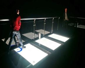 益阳云台山玻璃桥互动屏