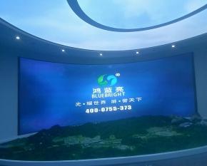 赣州会昌H2.5弧形屏50㎡