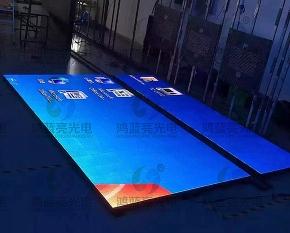南宁P8.9人体感应地砖屏