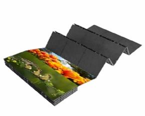南宁LED折叠屏|窗帘屏|卷帘屏